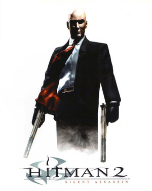 Cover for Hitman 2: Silent Assassin.