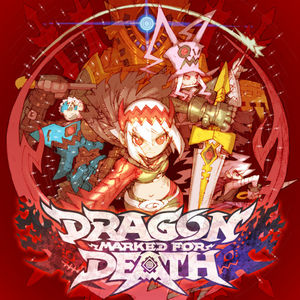 Cover for Dragon Marked For Death.