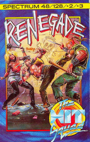 Cover for Renegade.