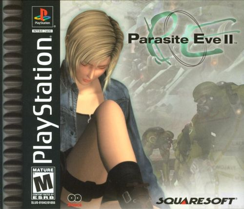 Cover for Parasite Eve II.