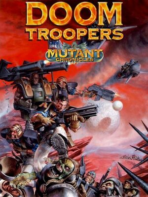 Cover for Doom Troopers: Mutant Chronicles.