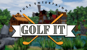 Cover for Golf It!.