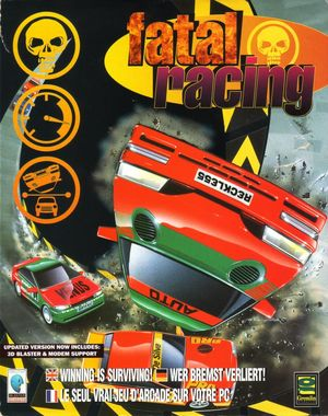 Cover for Fatal Racing.