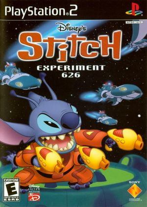 Cover for Disney's Stitch: Experiment 626.