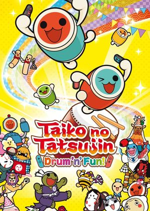 Cover for Taiko no Tatsujin: Drum 'n' Fun!.