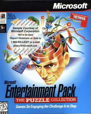 Cover for Microsoft Entertainment Pack: The Puzzle Collection.