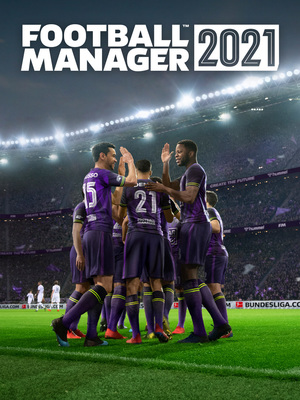 Cover for Football Manager 2021.