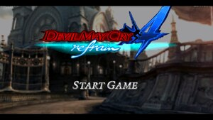 Cover for Devil May Cry 4 Refrain.