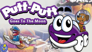 Cover for Putt-Putt Goes to the Moon.