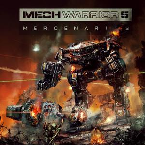 Cover for MechWarrior 5: Mercenaries.