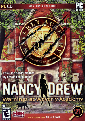 Cover for Nancy Drew: Warnings at Waverly Academy.