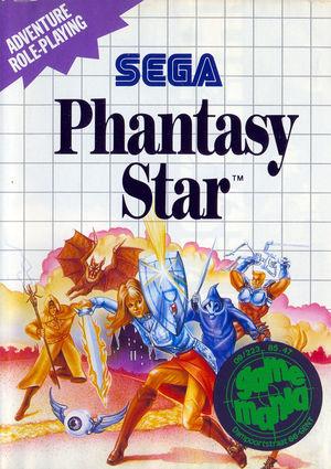 Cover for Phantasy Star.