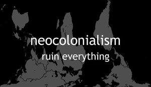 Cover for Neocolonialism.