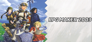 Cover for RPG Maker 2003.