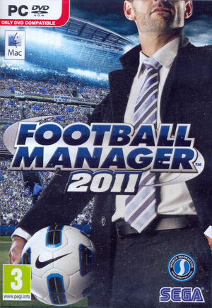 Cover for Football Manager 2011.