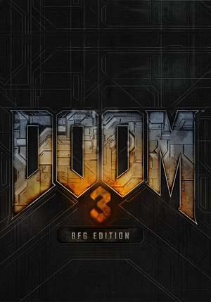 Cover for Doom 3 BFG Edition.