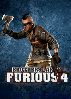 Cover for Brothers in Arms: Furious 4.