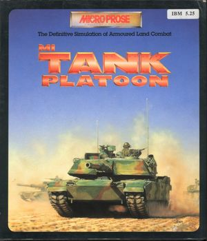 Cover for M1 Tank Platoon.