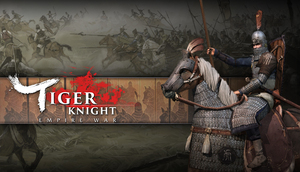 Cover for Tiger Knight: Empire War.