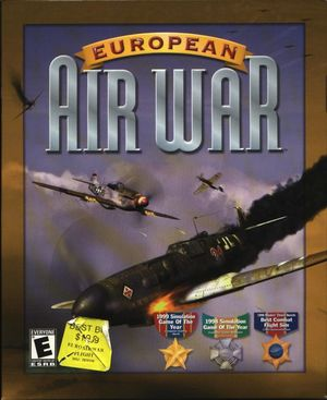 Cover for European Air War.