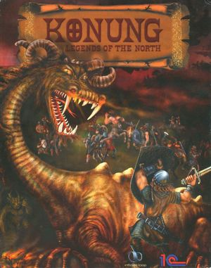 Cover for Konung: Legends of the North.