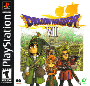 Cover for Dragon Warrior VII.