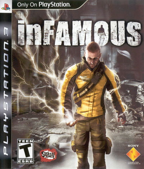 Cover for InFamous.