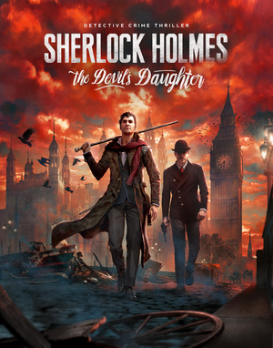 Cover for Sherlock Holmes: The Devil's Daughter.