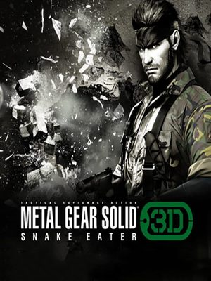 Cover for Metal Gear Solid: Snake Eater 3D.