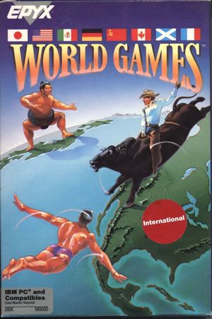 Cover for World Games.
