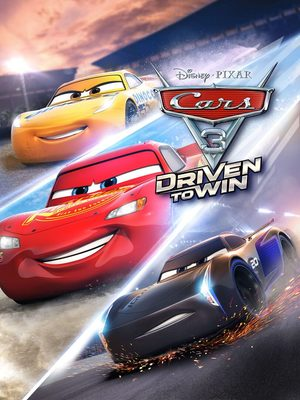 Cover for Cars 3: Driven to Win.