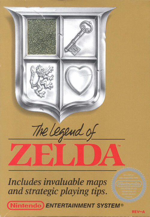 Cover for The Legend of Zelda.