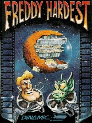 Cover for Freddy Hardest.