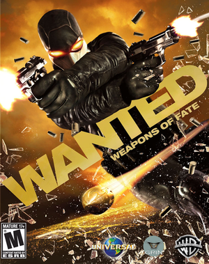 Cover for Wanted: Weapons of Fate.