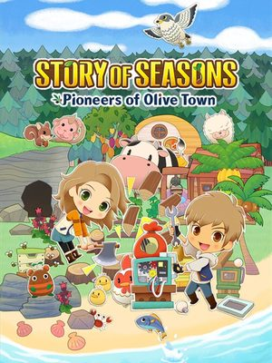 Cover for Story of Seasons: Pioneers of Olive Town.