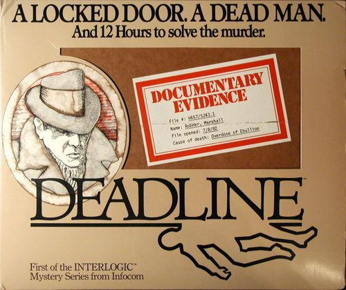 Cover for Deadline.