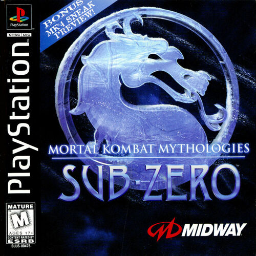 Cover for Mortal Kombat Mythologies: Sub-Zero.