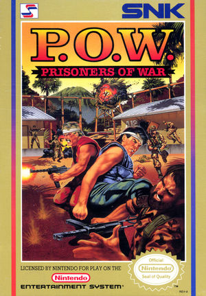 Cover for P.O.W.: Prisoners of War.