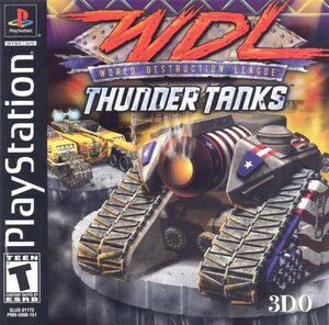Cover for World Destruction League: Thunder Tanks.