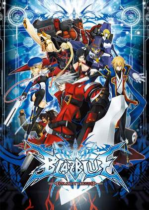 Cover for BlazBlue: Calamity Trigger.