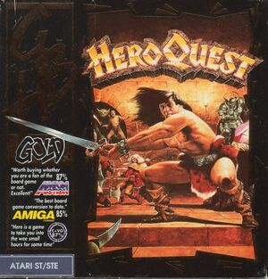 Cover for HeroQuest.