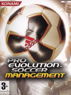 Cover for Pro Evolution Soccer Management.