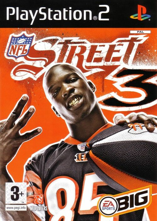 Cover for NFL Street 3.