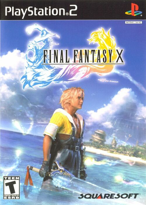 Cover for Final Fantasy X.