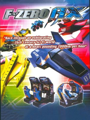 Cover for F-Zero AX.