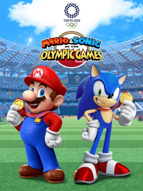 Cover for Mario & Sonic at the Tokyo 2020 Olympic Games.