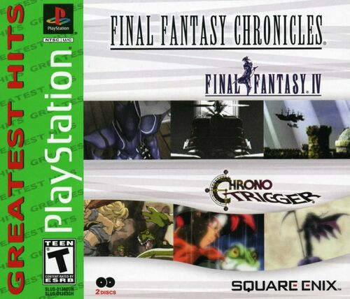 Cover for Final Fantasy Chronicles.
