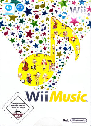 Cover for Wii Music.