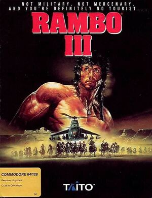 Cover for Rambo III.