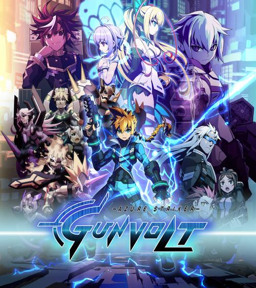 Cover for Azure Striker Gunvolt.